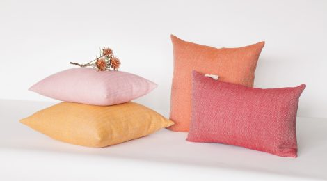 Leena Pinomaa, handmade linen textiles 2018.